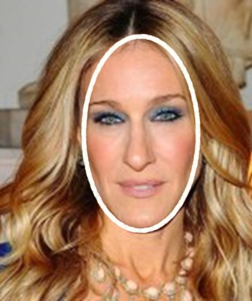 Contorneado facial V – rostro alargado